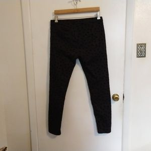 H&M Jeans - H&M Black Jeans Spotted Velveteen Patches 12